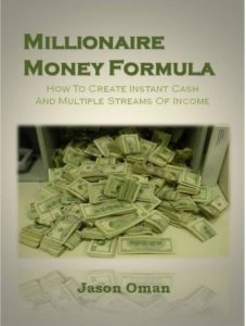 Millionaire Money Formula Book
